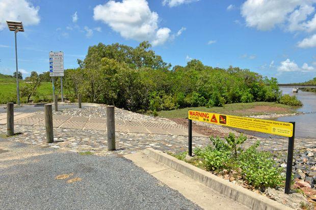 Pioneer river boat ramp Mackay